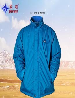 紫羲2021新款棉衣 棉服 棉上衣 防水加绒保暖棉衣  源头工厂